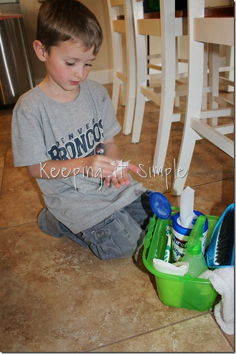 #ad Individual-Kids-Clean-Up-Buckets #PurellWipes (10)