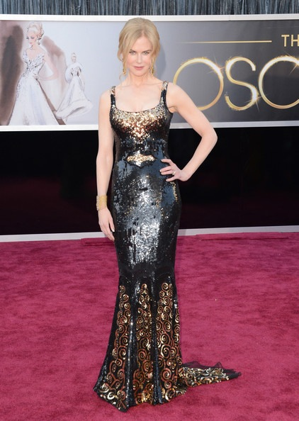Nicole Kidman arrives at the Oscars