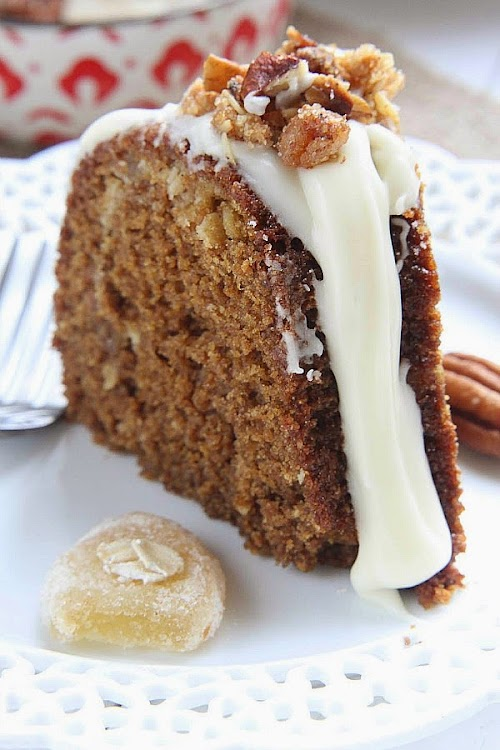 Maple Glazed Gingerbread Bundt Cake with Oat Streusel with @HodgsonMill #sponsored -- Recipe by @LifeMadeSweeter.jpg