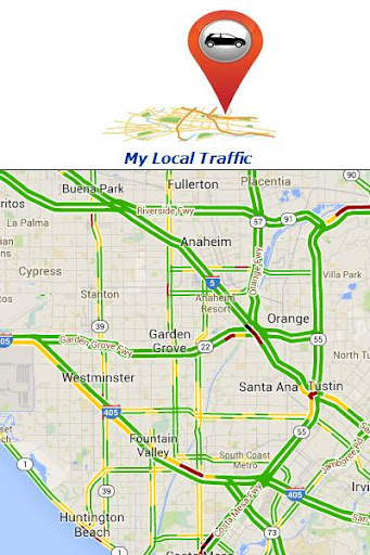 Simple Traffic Map Your Spot