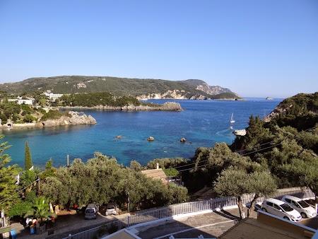 09. Priveliste din balcon - hotel Oddyseus Corfu.JPG