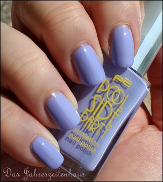 0 P2 Limited Edition LE Pool Side Party Nagellack 030 Violet Summerdream