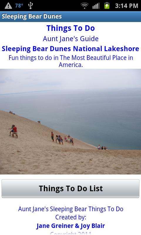 Sleeping Bear Things To Do - screenshot