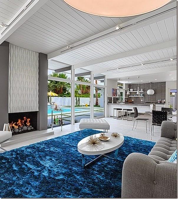 Villa anni 39 50 a palm springs california case e interni for Interni case americane