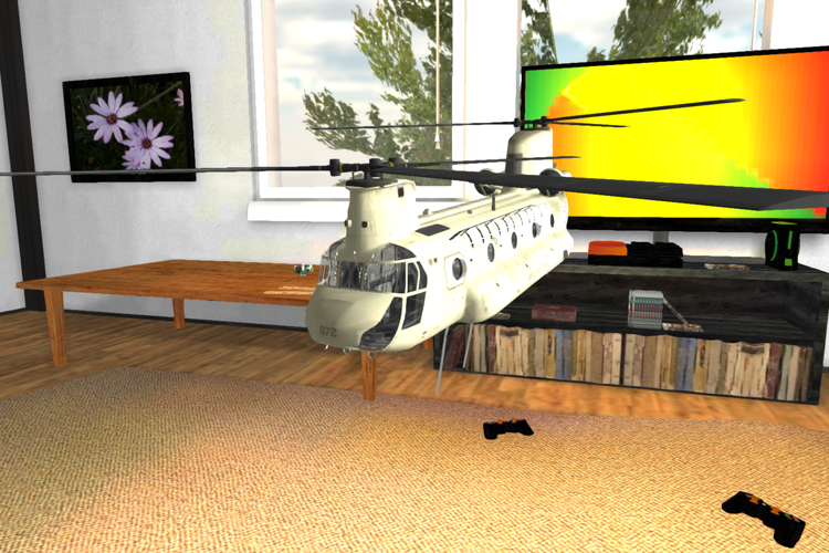 RC Helicopter Flight Simulator- screenshot