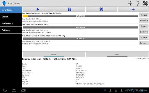 SmartTorrent BitTorrent Client v1.0