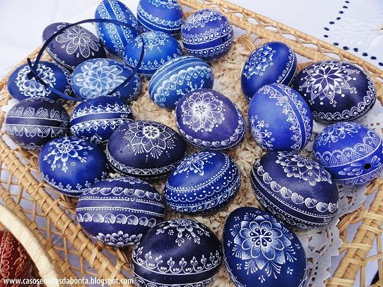 Os mais lindos ovos de páscoa