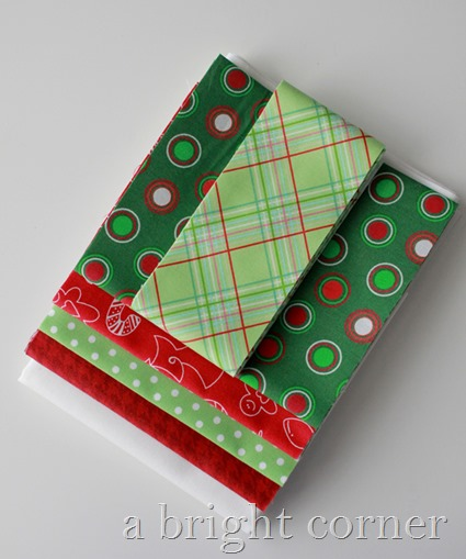 christmas star table runner kit