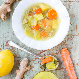 Immune-Boosting Vegetable Soup and Broth