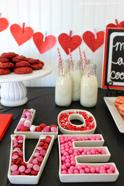 cookies and milk party decorations