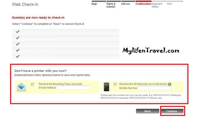 Airasia how to online Check in 5