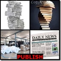 PUBLISH- 4 Pics 1 Word Answers 3 Letters