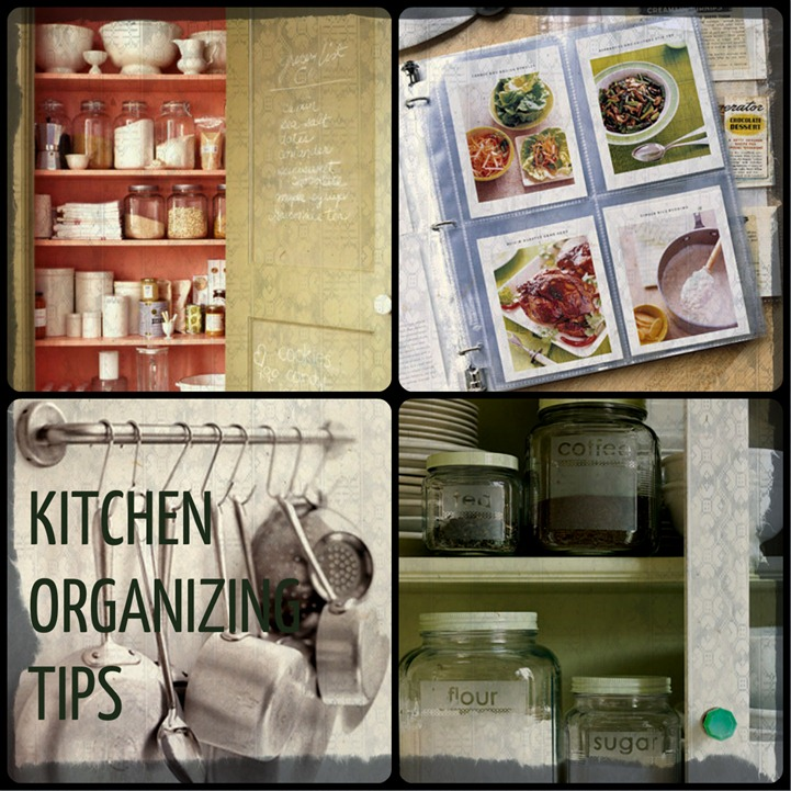 KITCHEN ORGANAZING TIPS