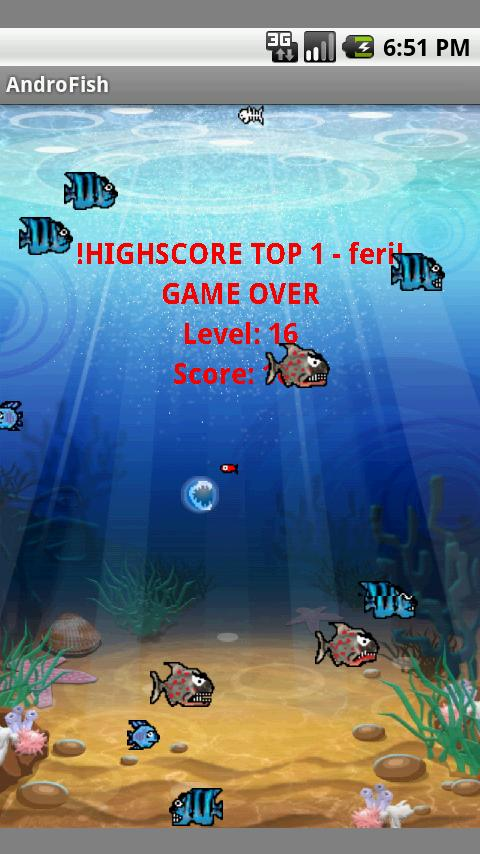 AndroFish (1.5)- screenshot