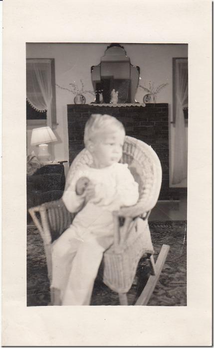 Jan Albert Iverson as a Young Boy