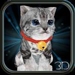 Fluffy Cat Pet 3D HD lwp v1.0