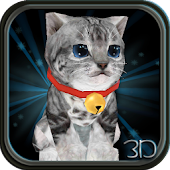 Fluffy Cat Pet 3D HD lwp