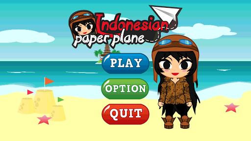 Indonesian Paper Plane