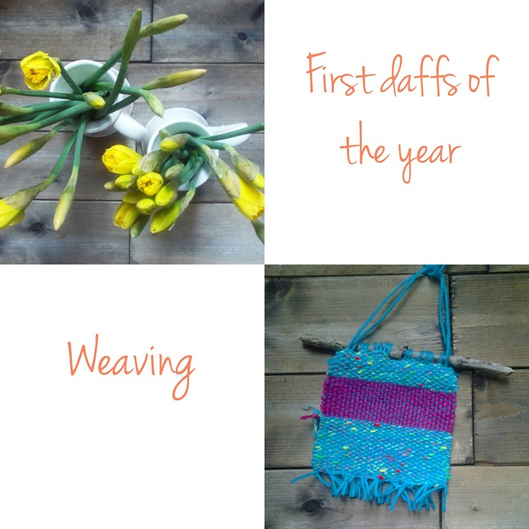 weaving and daffs