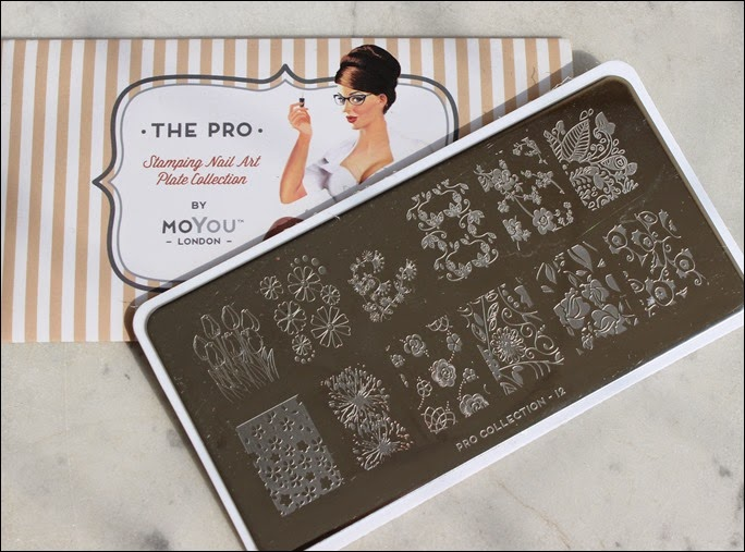 Stamping Palette Plate Moyou Pro Collection 12
