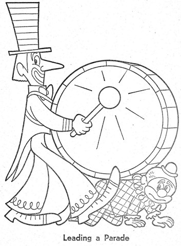palhaço-colorir-Clowns To Color-coloring page-00008