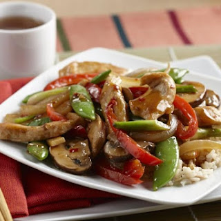 Stir-Fry Chicken and Vegetable Delight.