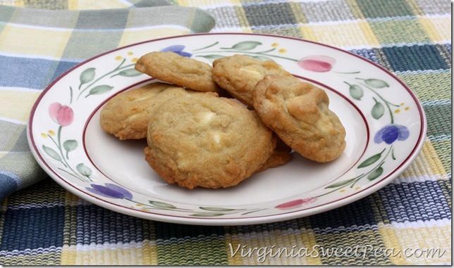 White Chocolate with Orange Cookies2