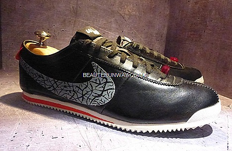 NIKE CORTEZ 40th Anniversary celebration Sebastian Tay, Sneaker collection 600 pairs original designed by Bill Bowerman mid-60s, 8 personalities artists customise design Singapore, Malaysia, Indonesia, Thailand Philippines