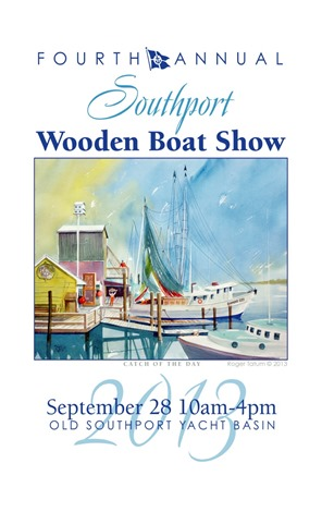 wooden boatshow poster