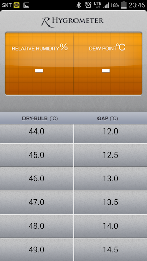 상대습도계 R_Hygrometer Plus