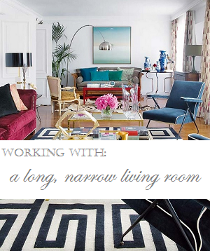 long narrow living rooms