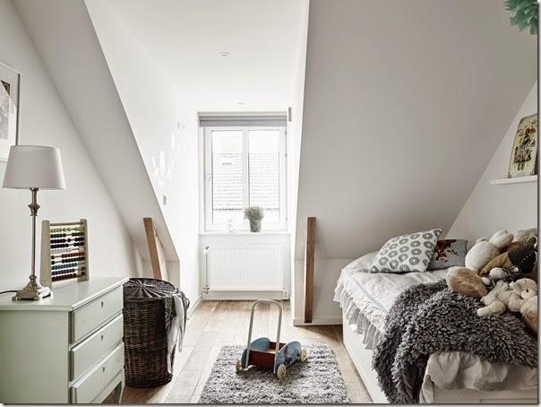 Appartamento urban chic scandinavo case e interni for Armadio stile nordico