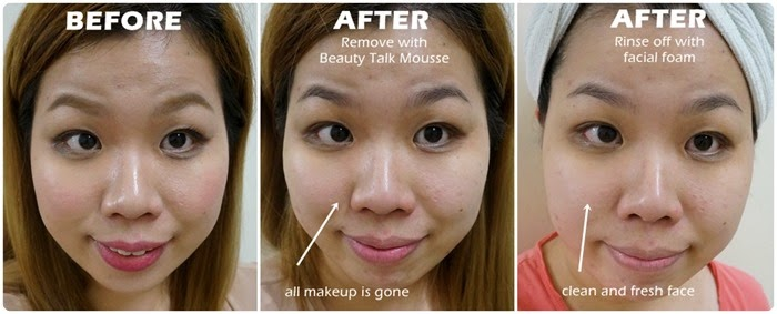 Beauty Talk OxySolution Mousse review