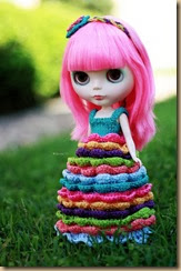 crochet doll six