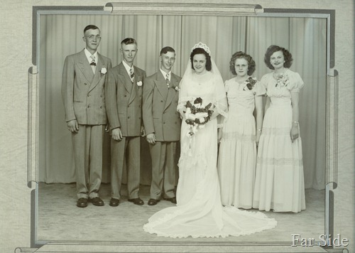 Marion and Marvin Wedding Party (2)