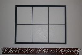 Diy Faux Window Frame