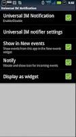 Screenshot of SmartWatch Universal IM