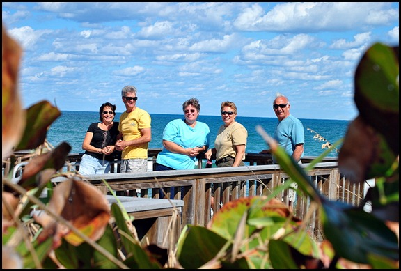 5b4 - Tour - First Beach Access - Pelicans in the sky
