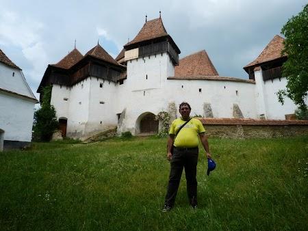 Fortificatii sasesti in Transilvania: Biserica Viscri