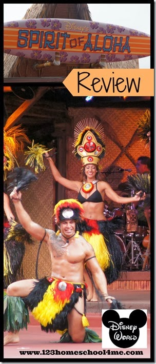 Disney's Polynesian Spirit of Aloha Dinner Show Review