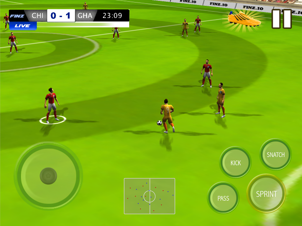 Download best football or soccer games for android in 2014 - Play Football 2016 World Tour Screenshot