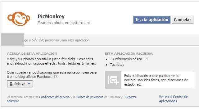 Picmonkey facebook