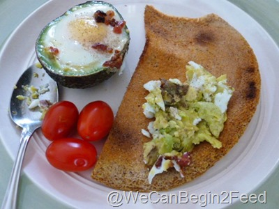 Apr 14 Avocado egg and Flax toast 010
