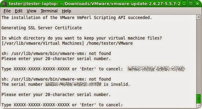 vmware-server-ubuntu-serial-error