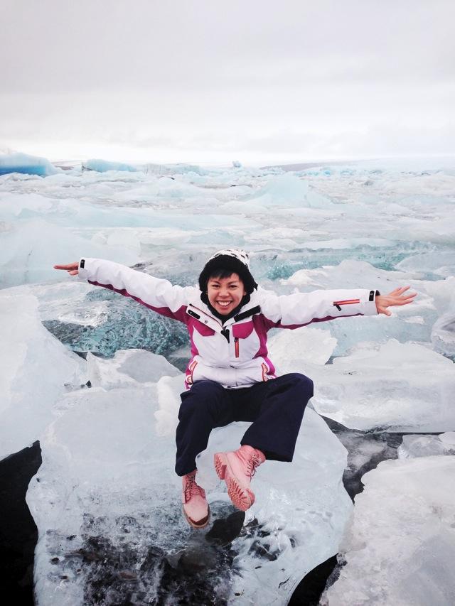me on iceberg