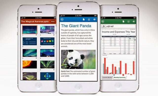 Novedades de Microsoft Office Mobile para iOS y Android