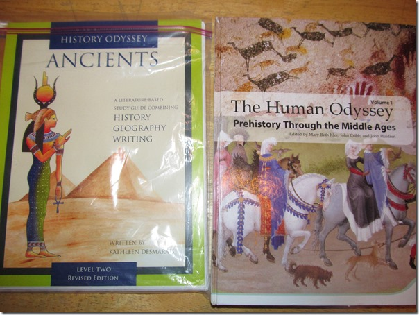 History Odyssey and Human Odyssey