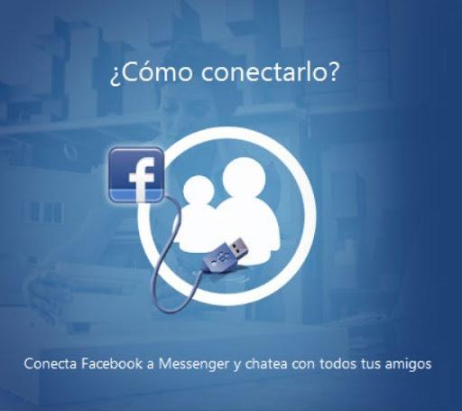 Facebook desde el Messenger