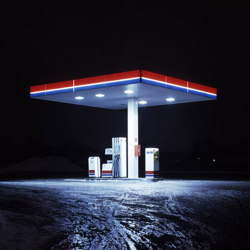 Deserted Gas Stations