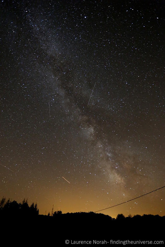Sky stars milky way